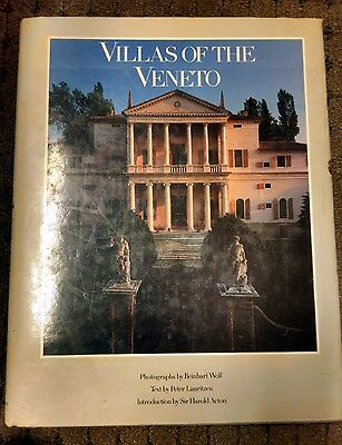 Villas of the Veneto (1988, Hardcover) Italy Architecture Book Art Design