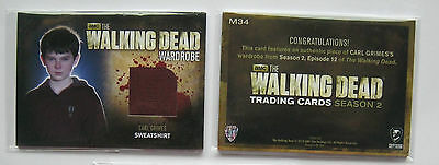 Walking Dead wardrobe card
