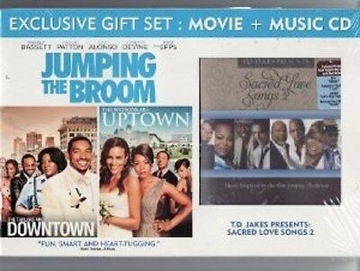 Jumping the Broom (DVD, Deluxe Edition with CD Soundtrack) - NEW!!