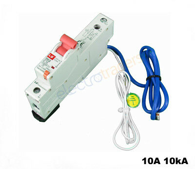 Safety Switch Circuit Breaker Combination RCBO 10 Amp 10kA Rated