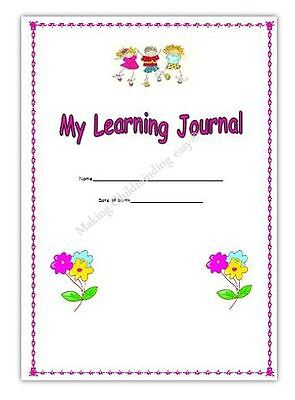 Girls Pink*My Learning Journey/Observation Book* Eyfs Childminder Childminding