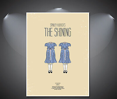 The Shining Vintage Art Poster - A0, A1, A2, A3, A4 Sizes