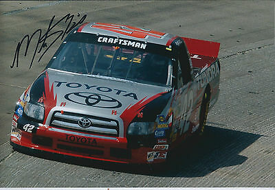 Mike SKINNER SIGNED NASCAR Truck Series 12x8 Photo AFTAL COA Autograph