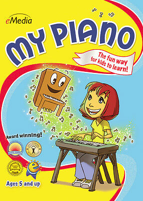 My Piano - Windows Download Software NEW - Learn To Play Piano - eMedia