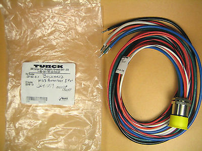 Turck MultiFast  CSF 822-8-1  Receptacle Cable