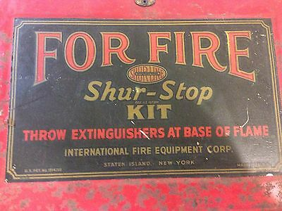 Shur-Stop Kit Fire Grenades From 1950