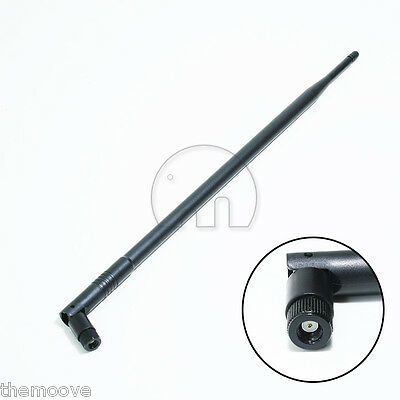10dBi High Gain 2.4GHz 802.11 b/g/n Omni WiFi Antenna RP-SMA Connector AUS