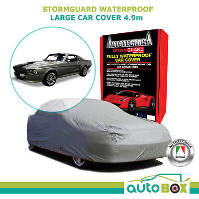 Autotecnica Large Car Cover Ford Mustang 1964-2012 Stormguard Waterproof w/ Bag