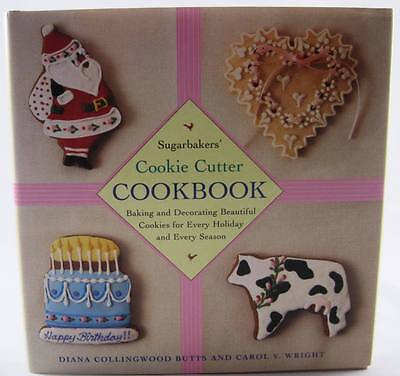 Sugarbaker's Cookie Cutter Cookbook Cook Book SIGNED BY AUTHORS 1st Edition NICE