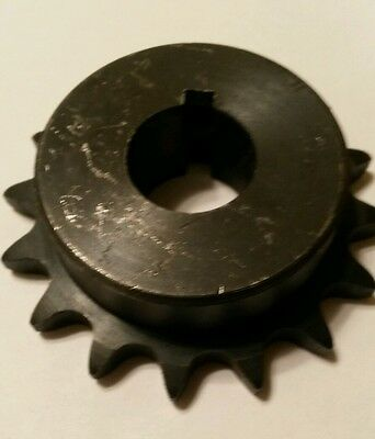 """40B15H-3/4"""" type B Bore Sprocket for #40 Roller Chain 15 Tooth 40BS15H"""