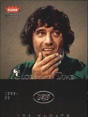 2004 Greats of the Game Glory of Their Time #GOT1 Joe Namath/1967 - NM-MT