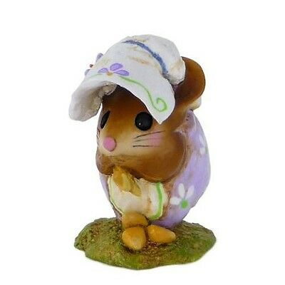 SPRING NIBBLE MOUSE by Wee Forest Folk, WFF# NM-1b, LAVENDER