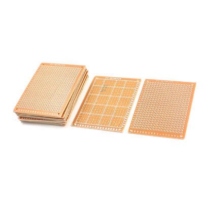 15Pcs Baklite Copper Plated Prototype PCB Board Veroboard 7cmx5cm