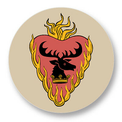 Pin Button Badge Ø25mm Game Of Thrones Trône de fer House Swaan