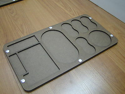 """Game Trays for """"Heroclix"""" style game, """" DC, Marvel """" Long"""