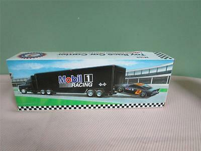 1994 MOBIL Toy Race Car Carrier - 2nd edition in series