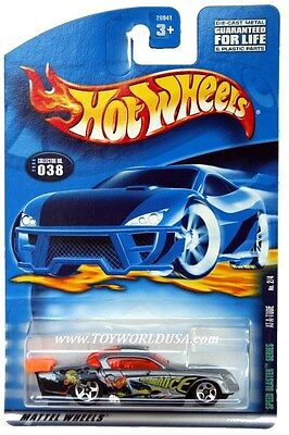 2000 Hot Wheels #38 Speed Blaster At-A-Tude '01 crd
