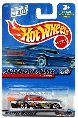2000 Hot Wheels #38 Speed Blaster At-A-Tude '00 crd