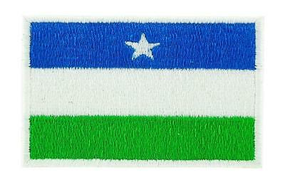 Patch écusson brodé Drapeau  Puntland somalie Thermocollant Backpack sac à dos