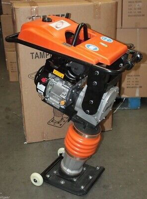 196CC 6.5HP Gas Power Dirt Rammer Jumping Jack Tamper Tamping Ram Compactor