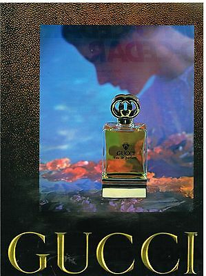 Publicité Advertising 1979 Eau de Parfum Gucci