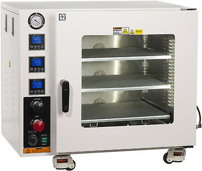 Ai UL/CSA Certified 3.2 CF Vacuum Oven 3 Headed Shelf All SST Tubing 110V
