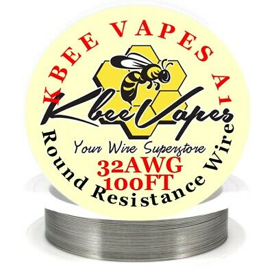 Kbee's A1 - 100ft Roll of 32 Gauge  .20mm , 13.75 Ohms/ft Resistance Wire