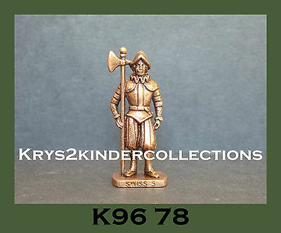 Jouet kinder figurine métallique Swiss 5 K96 78  France 1995