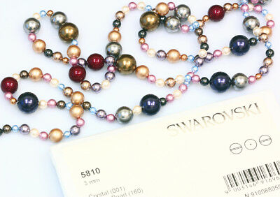 Genuine SWAROVSKI 5810 Round Crystal Pearls * Many Sizes & Colors