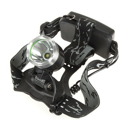 New 1600 Lumens Waterproof 3 Mode CREE XM-L T6 Head Torch Lamp Headlamp +Charger