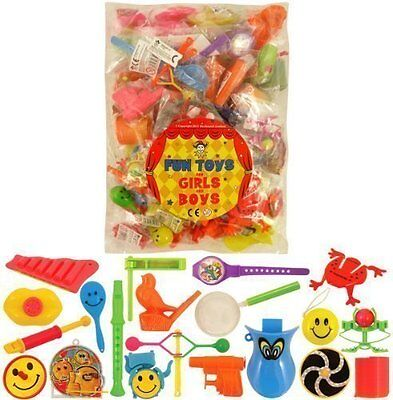 100 Toys Party Bag Fillers Pinata Fete Lucky Dip Prizes For Girls And Boys