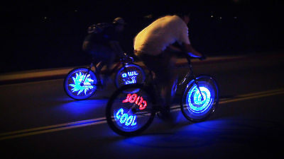 "Fantasma OWL Spoke Wheel LED Light, Programmable, 20"", One Wheel (BK-2082)"