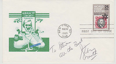 Signed Stan Smith Fdc Autographed First Day Cover