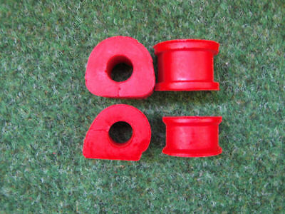 Stabi-Lager PU Golf 3 syncro Hinterachse rot