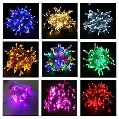 LED Christmas Party String rope Fairy Light Fairy Xmas Wedding Connectable lamp