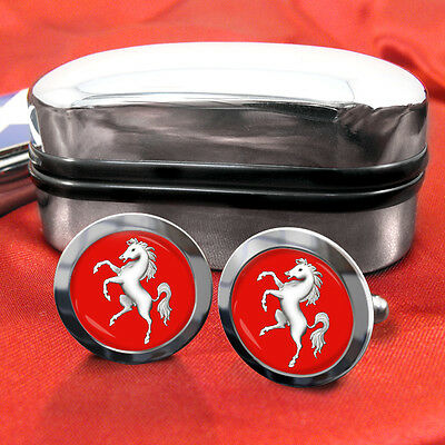 Kent County Cufflinks & Box