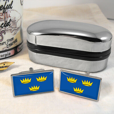 Munster Flag Cufflinks & Box