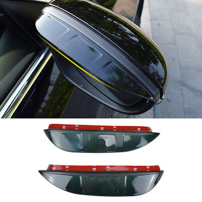 Fitfor Vw Jetta Passat B7 Cc 12-  Side Door Mirror Rain Guard Visor Shade Shield