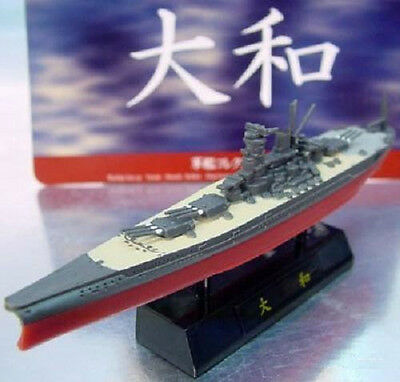 IJN Musashi 1:2000 Furuta Japanese Battleship Model Pre-Painted Snap-Tight Ship