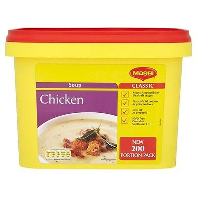 Maggi Classic Chicken Soup  2Kg Catering Pack