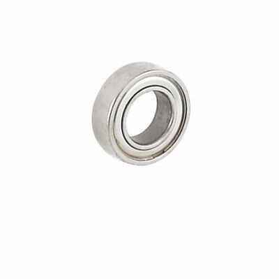 13mm x 7mm x 4mm Shielded Deep Groove Radial Ball Bearing Silver Tone