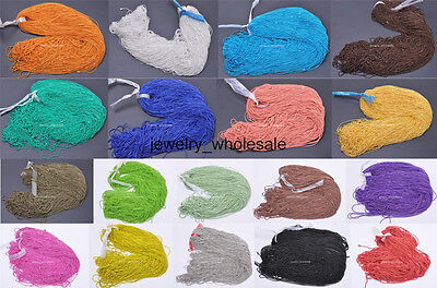 Wholesale 26Inch Ball Chain Necklace 1.5mm Bead Beads Connector 18 Color U Pick