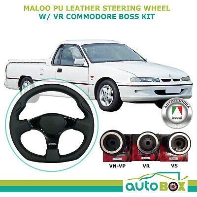 Maloo PU Leather M:Spec 350mm Autotecnica Steering Wheel with VR Boss Kit Ute