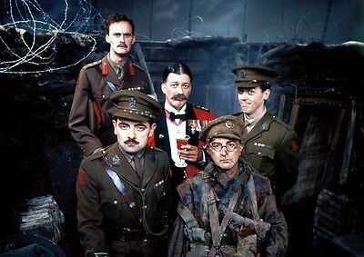 Blackadder Goes Forth Awesome Cast POSTER