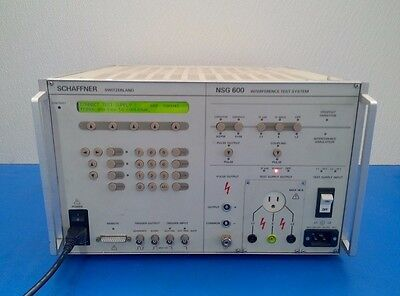 SCHAFFNER NSG600 NSG 600 Interference Simulator MAINFRAME ONLY