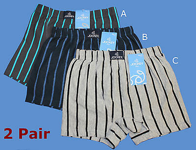 2x JOCKEY COTTON TRUNK Boys Kids Size 6,8,10,12,14 Underwear Boxers Undies Brief