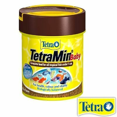 TETRA TROPICAL TETRAMIN FISH BABY FOOD 30g/66ml