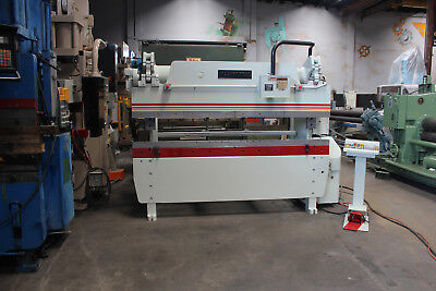 60 Ton x 08' Accurpress Model 7608 CNC Hydraulic Press Brake, S/N 5656 (1999)