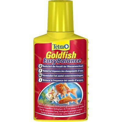 Tetra Goldfish  Easy Balance 100 ml reduces frequent water changes