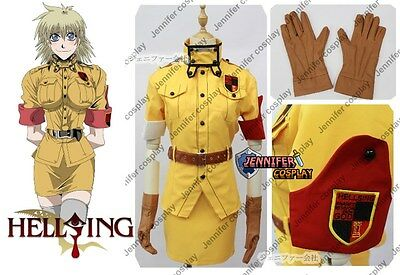 Hellsing Ultimate Victoria Seras Cosplay Costume
